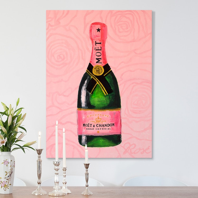 Sparkling Wine Art Canvas