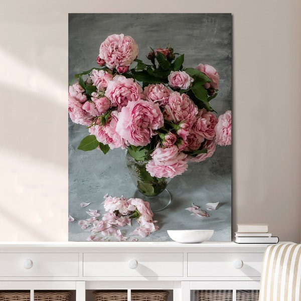 Rose Duchesse de Montebello' Canvas
