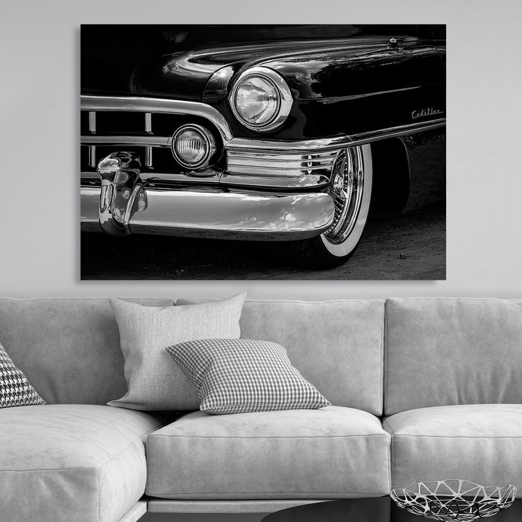 Black Cadillac Canvas