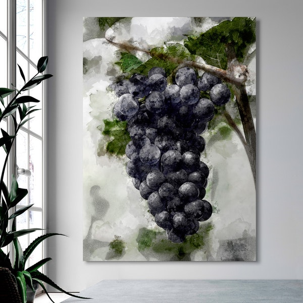 Grapes Canvas