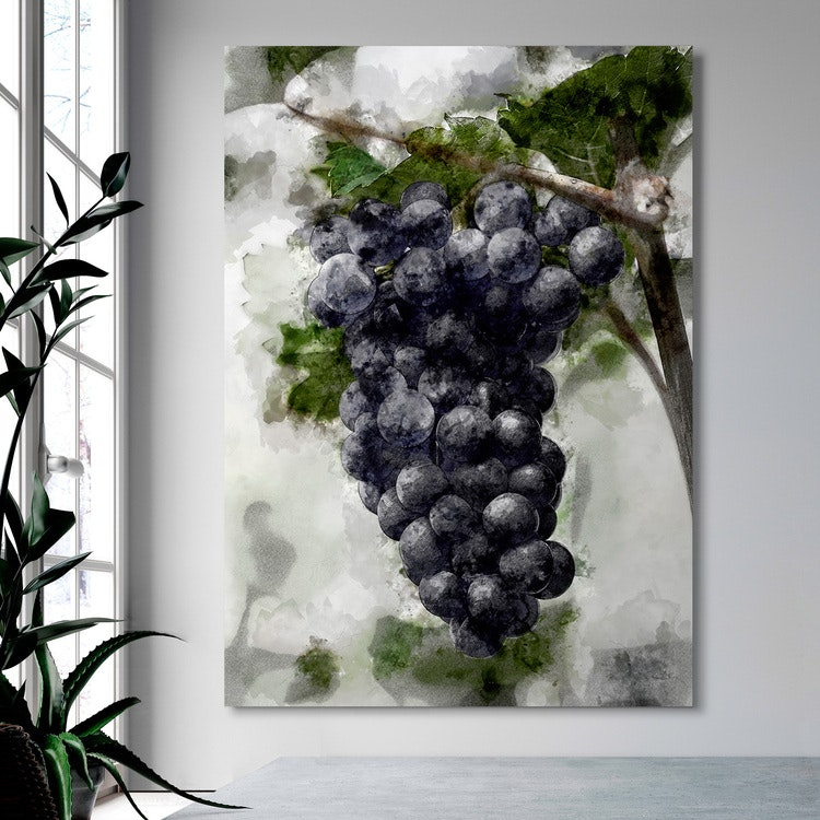 Grapes Canvas