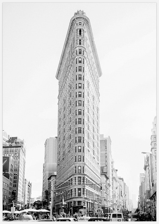 Flatiron in black & white