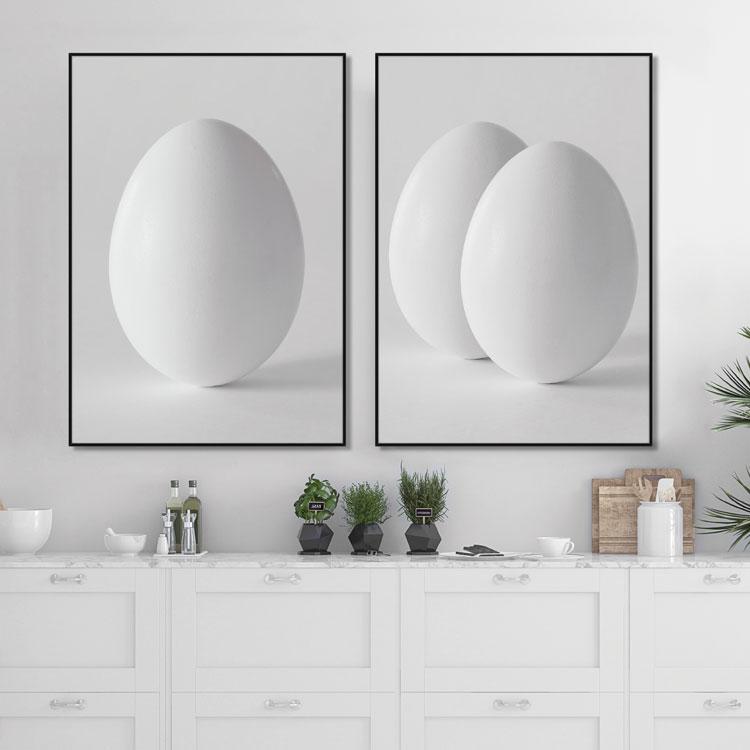 Tavelvägg The Eggs