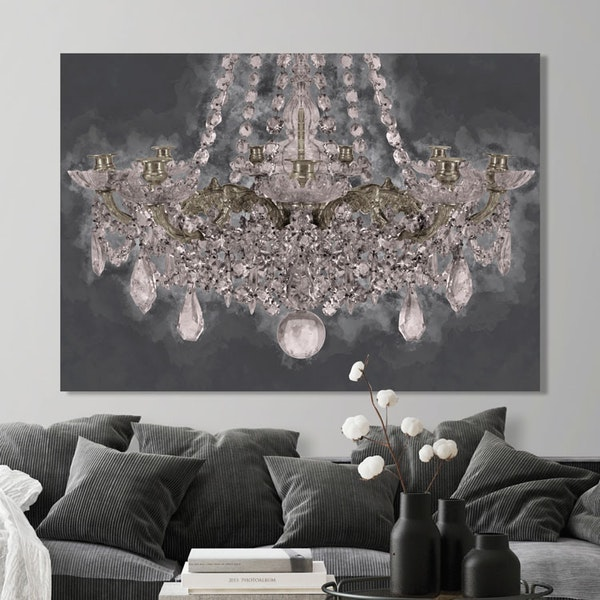 Maria Theresa Chandelier Canvas