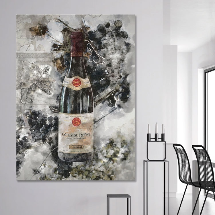 Wine Artwork Canvas