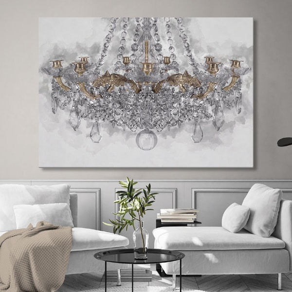 Chandelier Canvas