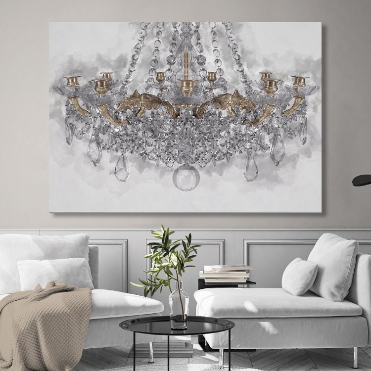 Chandelier Canvas