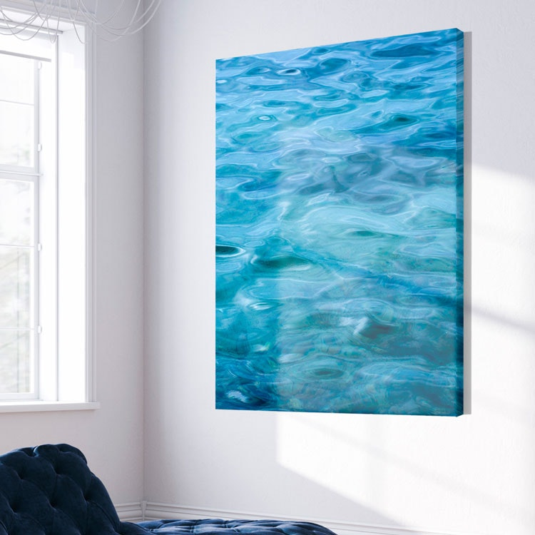 Water Art Canvas