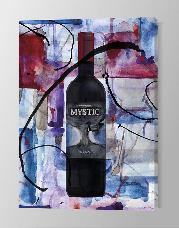 Red wine art canvas