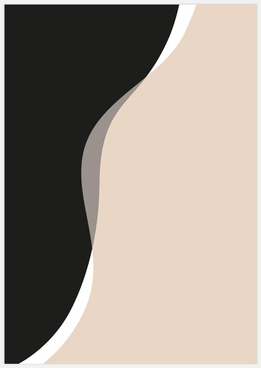 Abstract flow beige