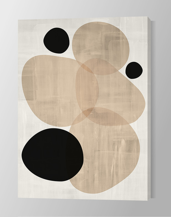 Abstract Ovals Canvas