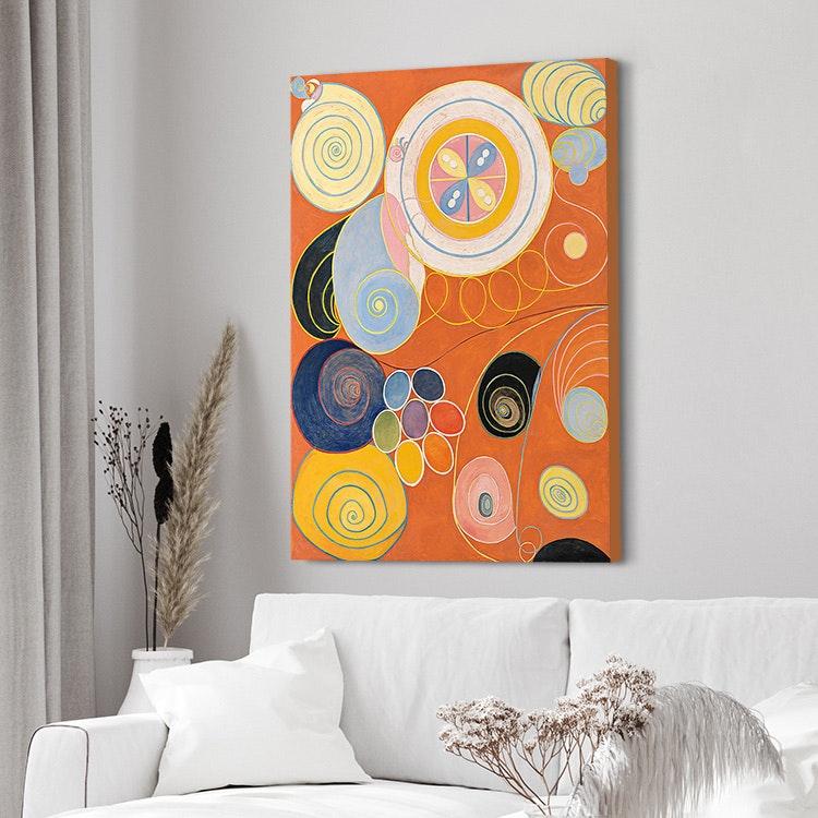 Hilma af Klint – The Ten Largest No. 3 Youth canvas