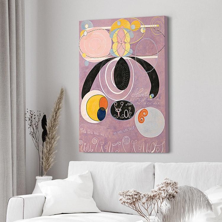 Hilma af Klint – The Ten Largest No. 6 canvas
