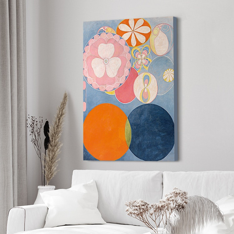 Hilma af Klint – The Ten Largest No. 2 Childhood canvas