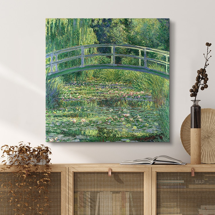 The Water-Liliy Pond – Canvas – Claude Monet