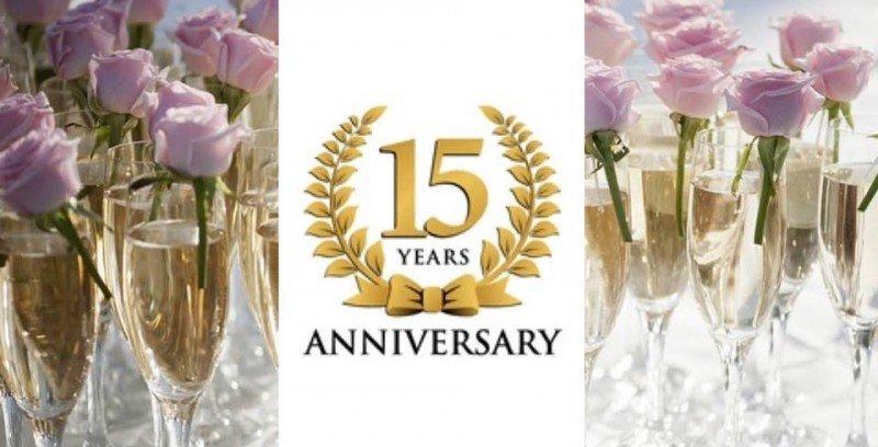 Cosmopharma fyller 15 år 15 oktober!