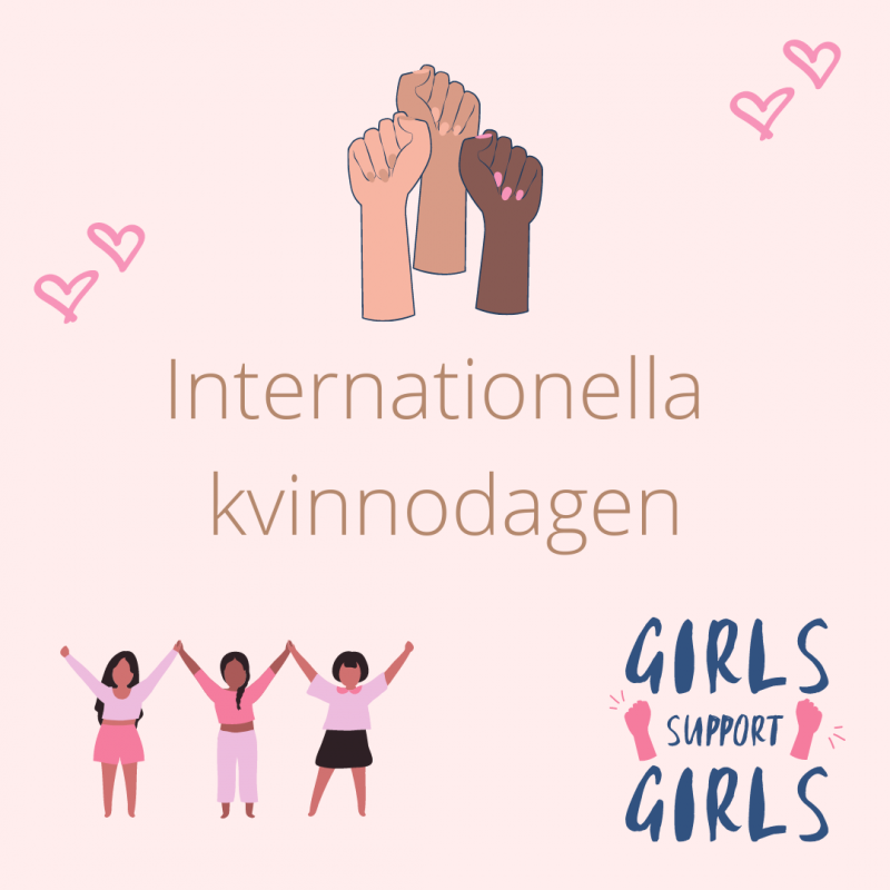 8 mars internationella kvinnodagen