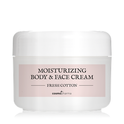 Moisturizing Body & Face Cream Fresh Cotton