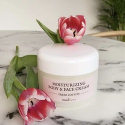 Moisturizing Body & Face Cream Fresh Cotton