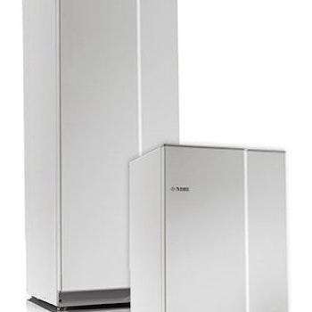 Nibe Compact varmvattenberedare 200 Liter Rostfri inklusive Monterat & Klart