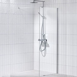Monterat & Klart Installation - Exklusive Duschvägg (1 st)