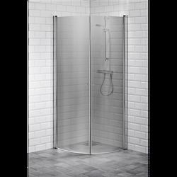 Alterna Picto duschhörna 90x90 cm Gråton inklusive Monterat & Klart