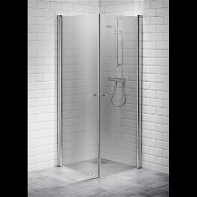 Alterna Picto duschhörna 80x80 cm Gråton inklusive Monterat & Klart