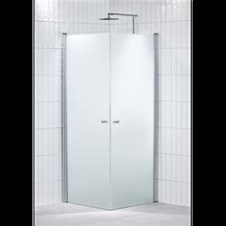 Alterna Lusso duschhörna 90x90 cm Frostat inklusive Monterat & Klart