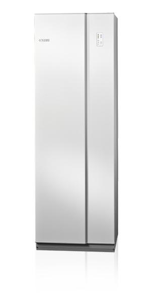 Nibe Compact SC varmvattenberedare 150 Liter Rostfri inklusive Monterat & Klart