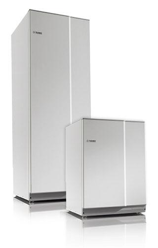 Nibe Compact varmvattenberedare 150 Liter Rostfri inklusive Monterat & Klart