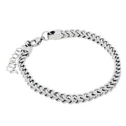 BY BILLGREN - Stålarmband, kedja, silver