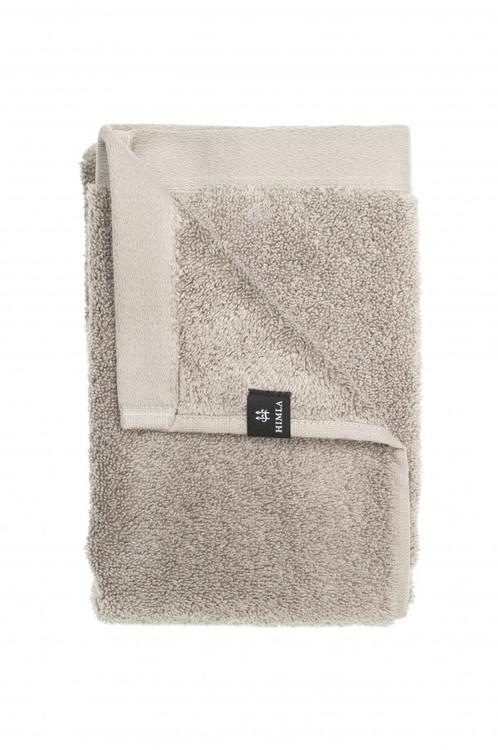Presenttips ljusgrå duschhandduk från Himla.