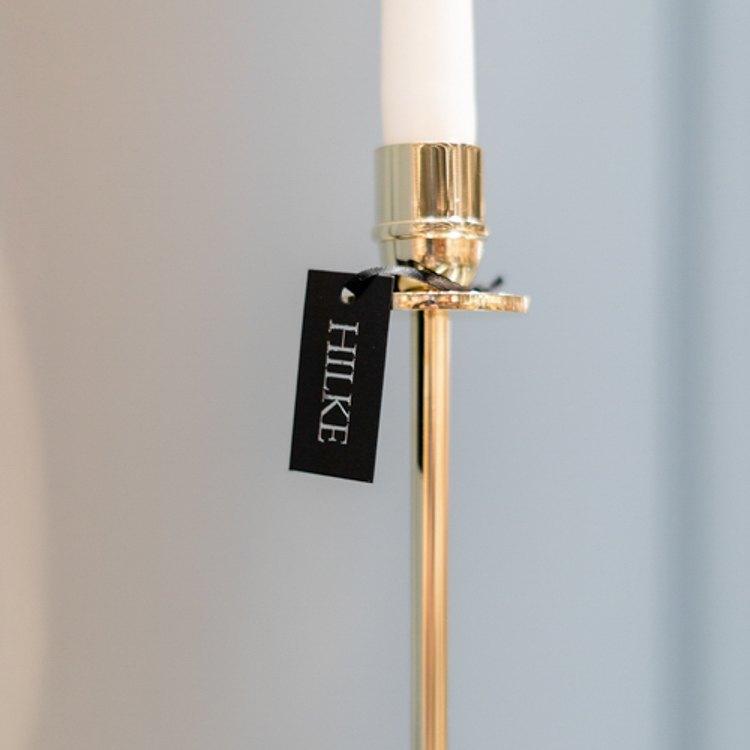 Mässingljusstake Luce Del Sole 30cm från Hilke Collection