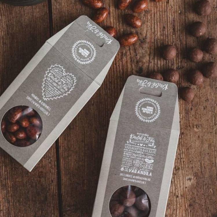 Presenttips saltlakrits och choklad från Majas Cottage.