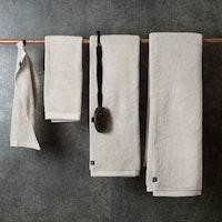HIMLA - Maxime beige handduk 50x70cm