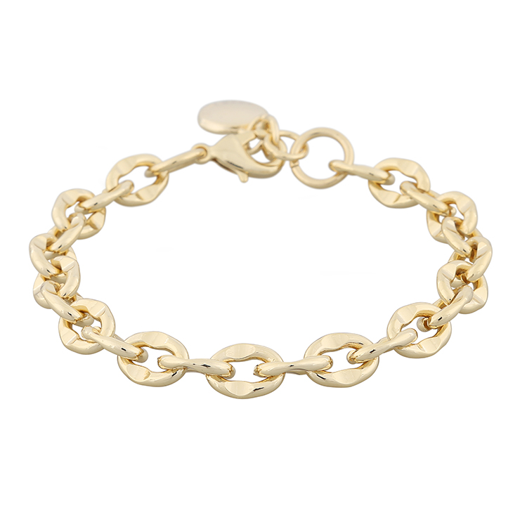 Presenttips Cathy small chain armband i guld från Snö of Sweden.