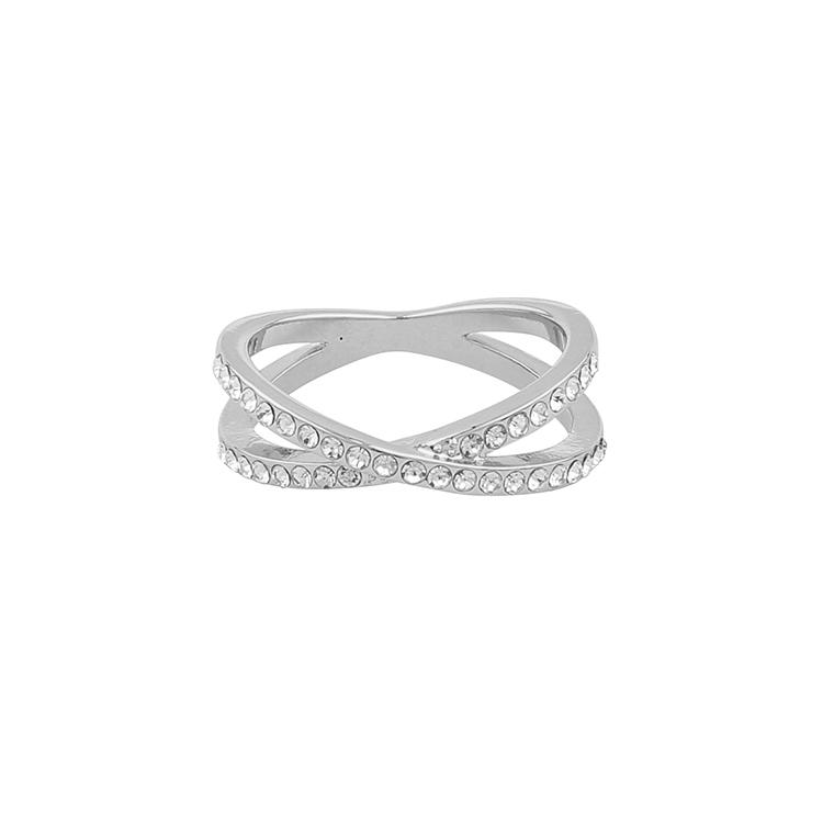 Presenttips Francis silver ring från Snö of Sweden.