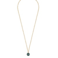 SNÖ OF SWEDEN - Shy small chain halsband, guld