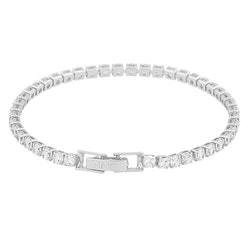 SNÖ OF SWEDEN - Siri stone armband, silver