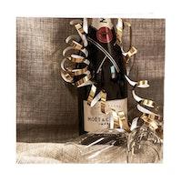 CARD STORE, gratulationskort - Champagne