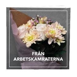 CARD STORE, gratulationskort - Från arbetskamratena