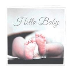 CARD STORE, gratulationskort - Hello baby