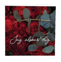 CARD STORE, gratulationskort - Jag älskar dig