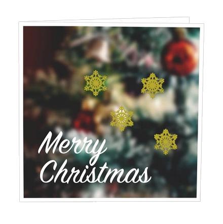 Gratulationskort merry christmas.