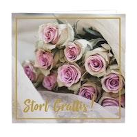 CARD STORE, gratulationskort - Stort grattis