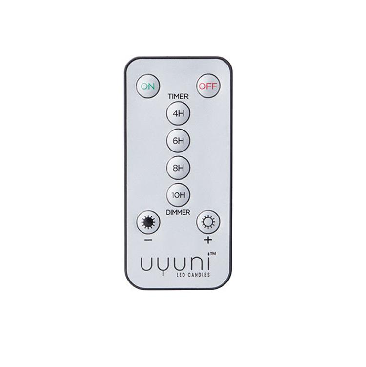 Praktisk fjärrkontroll till ledljusen från Uyuni lighting.