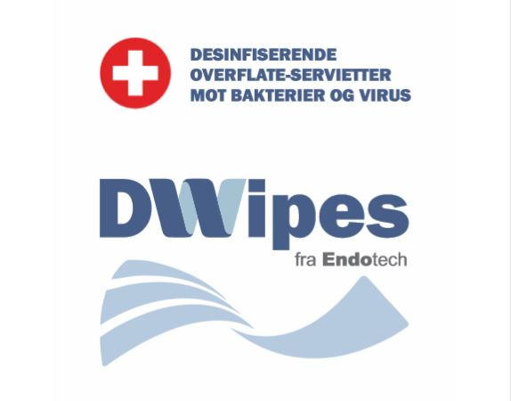 DWipes 500 - Desinfiserende våtservietter 500 stk.