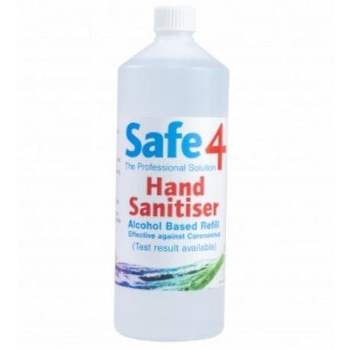 Hånd-desinfeksjon. Alkoholbasert. Skum. Refill. 1 Liter.