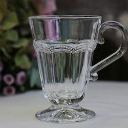 Glas Antoinette Med Handtag Chic Antique