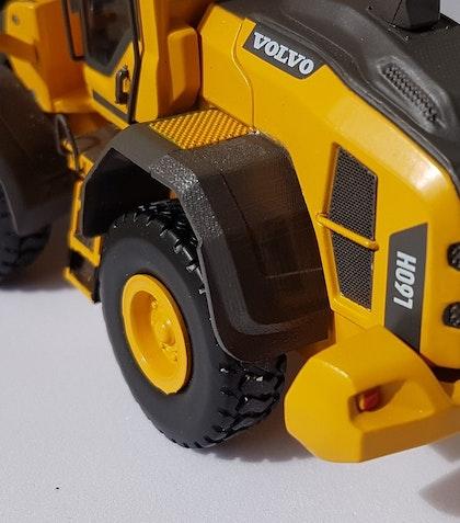 Bakre stänkskydd Volvo Hjullastare 1/50